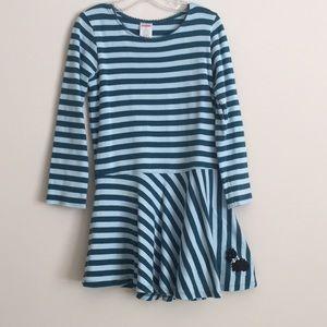Gymboree Blue & White Striped Dress!